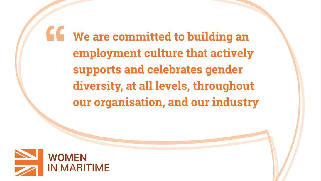 Maritime UK - Women In Maritime Statement