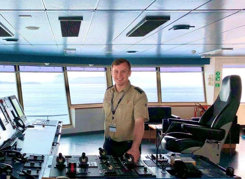 Clyde Marine Training cadet Dylan Pichlmayer-Coolahan